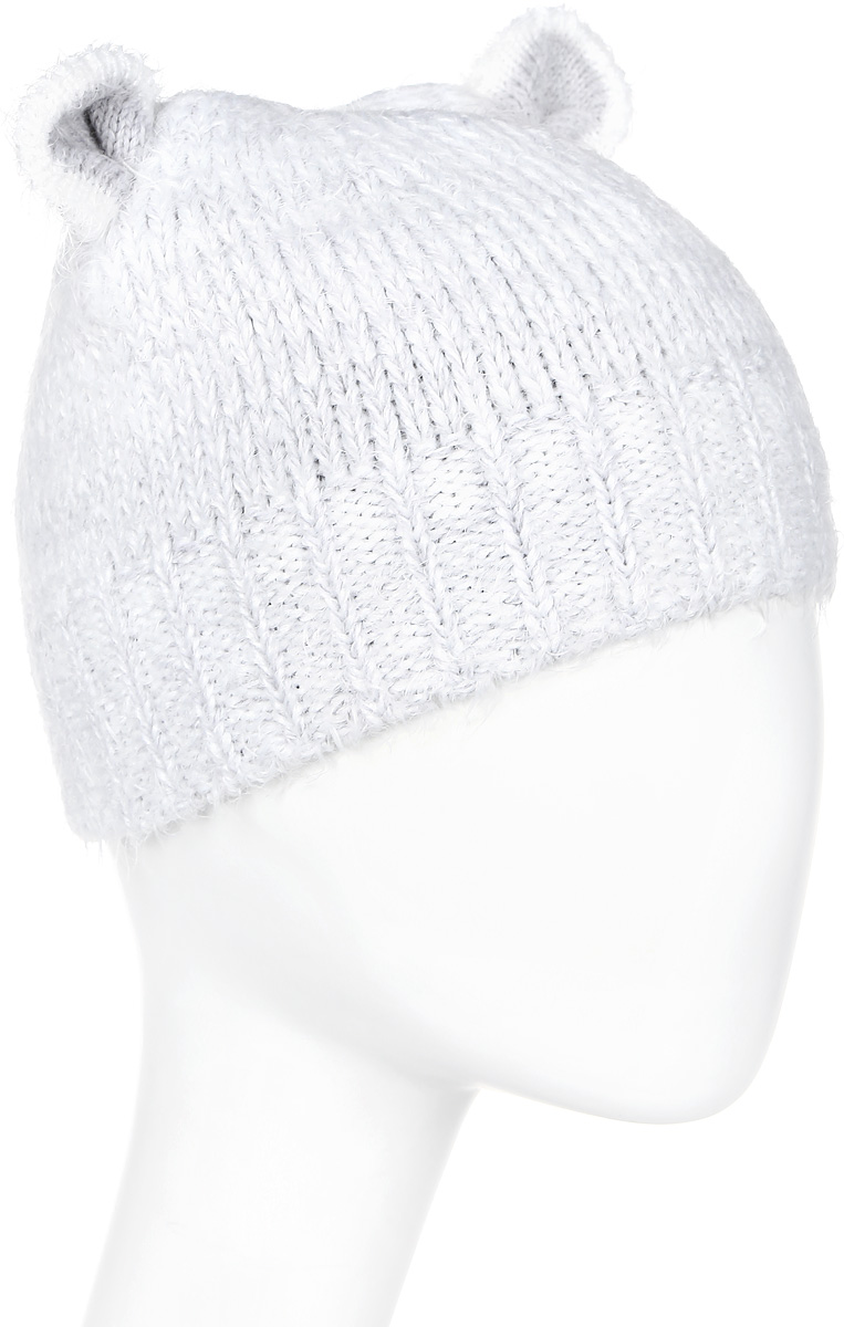 Шапка женская Marhatter, цвет: светло-серый. MWH5811/2. Размер 56/58MWH5811/2Модная шапка кошка в стиле Yeti. Модель отлично подойдет современным модницам, которые хотят проявить свою индивидуальность.