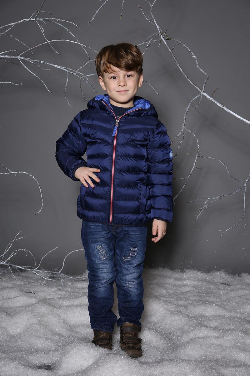 Куртка для мальчика Sweet Berry, цвет: темно-синий. 733024. Размер 104 джинсы для мальчика sweet berry цвет темно синий 733072 размер 104