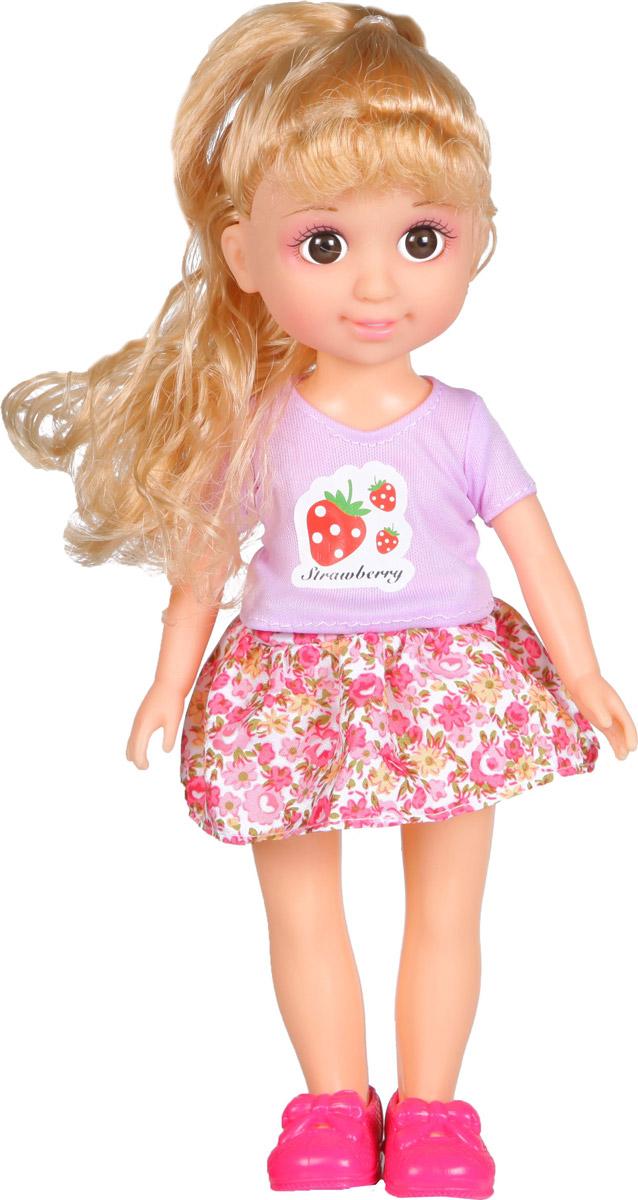 Yako Кукла Jammy блондинка цвет наряда розовый сиреневый yako кукла jammy блондинка цвет наряда розовый сиреневый