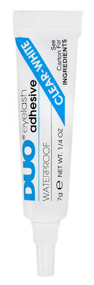 Бесцветный клей DUO Clear Lash Adhesive, 7 г568034Бесцветный клей Clear Lash Adhesive - средство для фиксации накладных ресниц.Многие профессиональные визажисты по всему миру выбирают клей для накладных ресниц DUO. Это уже самый популярный клей в США и Великобритании теперь и в России! DUO клей для ресниц на латексной основе надежно удерживает накладные ресницы в течении длительного времени. DUO безопасен и прост в применении.