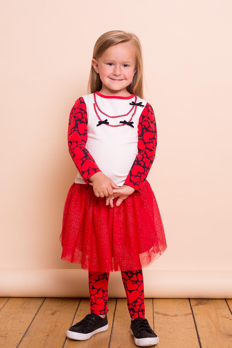 Юбка для девочки Sweet Berry Baby, цвет: красный. 732048. Размер 80732048Яркая трикотажная юбка Sweet Berry Baby для девочки выполнена из фатина с хлопковой подкладкой. Юбка на широком эластичном поясе, декорирована блестками.