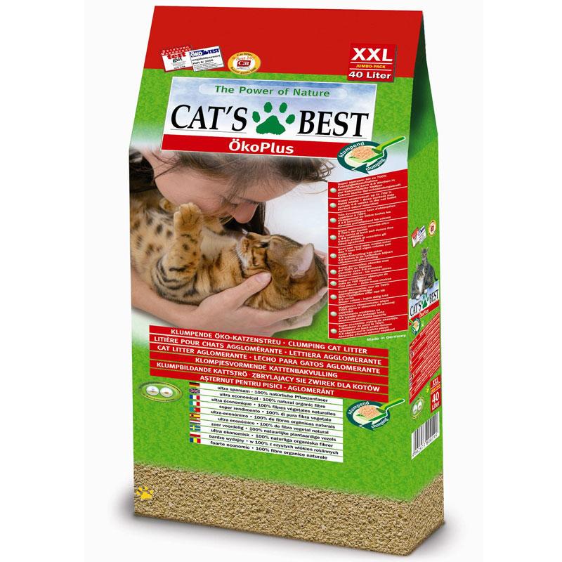 Наполнитель для кошачьего туалета Cats Best Eko Plus, древесный, 40 лKB-04Наполнитель для кошачьего туалета Cats Best Eko Plus вырабатывается из необработанной европейской еловой и сосновой древесины, которая берётся из свежеупавших стволов. Применение некондиционной древесины сохраняет здоровые природные лесные ресурсы.Особенности наполнителя для кошачьего туалета Cats Best Eko Plus:экологически чистый и биоразлагаемый на 100%. Вырабатывается из необработанной европейской еловой и сосновой древесины, которая берется из свежеупавших стволов. Применение некондиционной древесины сохраняет здоровые природные лесные ресурсы. Не содержит искусственных химических добавок;очень экономичный. Примерно в 3 раза выгоднее многих других комкующихся наполнителей. Он может существенно дольше оставаться в кошачьем лотке, и тем самым является более экономичной альтернативой многих, как ошибочно полагают, более дешевых наполнителей, что подтверждают сравнительные тесты;прекрасно поглощает неприятные запахи. Неприятный запах эффективно и в течение продолжительного времени связывается в капиллярной системе растительных волокон; без добавления химических веществ или ароматизаторов. Кошки любят естественный, свежий запах растительных волокон. Сделайте приятное себе, и своей кошке;впитывает в 7 раз больше собственного объема;не содержит искусственных ароматизаторов и отдушек;образует плотные комки, которые легко удаляются;утилизируется в городскую канализационную сеть;растительные волокна характеризуются приятной мягкостью и отсутствием пыли, что обеспечивает комфорт для кошачьих лап и чувствительных органов дыхания;легкий при транспортировке.Объем: 40 л. Товар сертифицирован.Уважаемые клиенты! Обращаем ваше внимание на возможные изменения в дизайне упаковки. Качественные характеристики товара остаются неизменными. Поставка осуществляется в зависимости от наличия на складе.