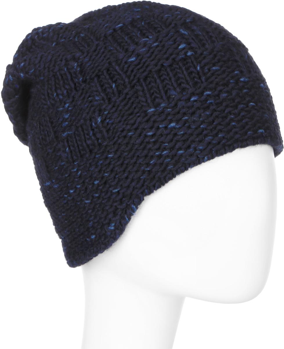 Шапка мужская Marhatter, цвет: темно-синий. Размер 57/59. MMU7018/2MMU7018/2Замечательная модель, гарантирующая тепло. Незаменимый аксессуар в холодную погоду. Идеальный вариант на каждый день.