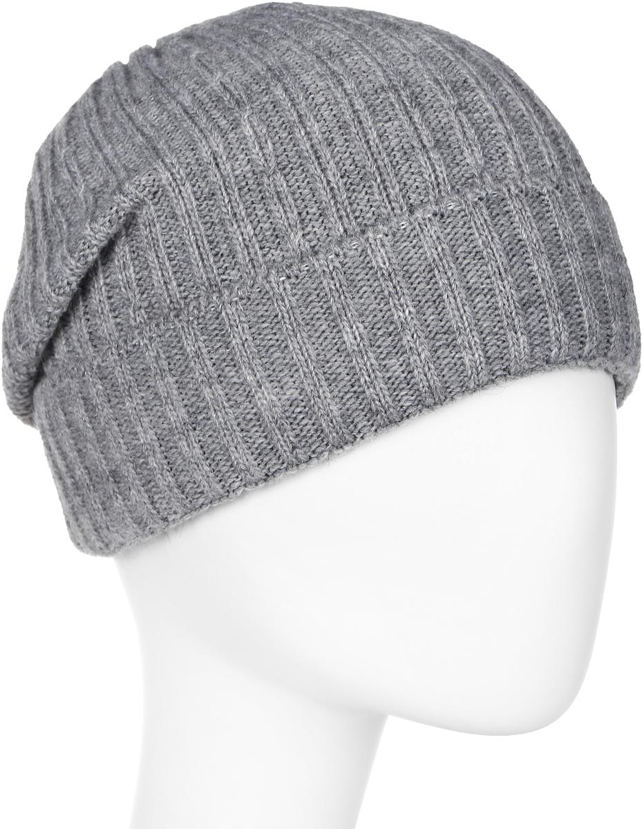 Шапка мужская Elfrio, цвет: серый. Размер 57/59. RMH6460/2RMH6460/2Теплая шапка, выполнена из комфортного материала. Данная модель мягкая и комфортная на ощупь, отличный вариант на каждый день.