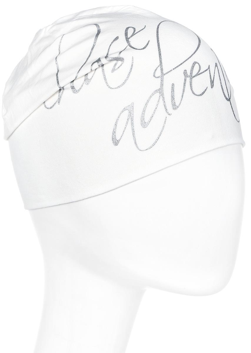 Шапка женская Luhta, цвет: белый. 838645591LV-010. Размер универсальный838645591LV-010