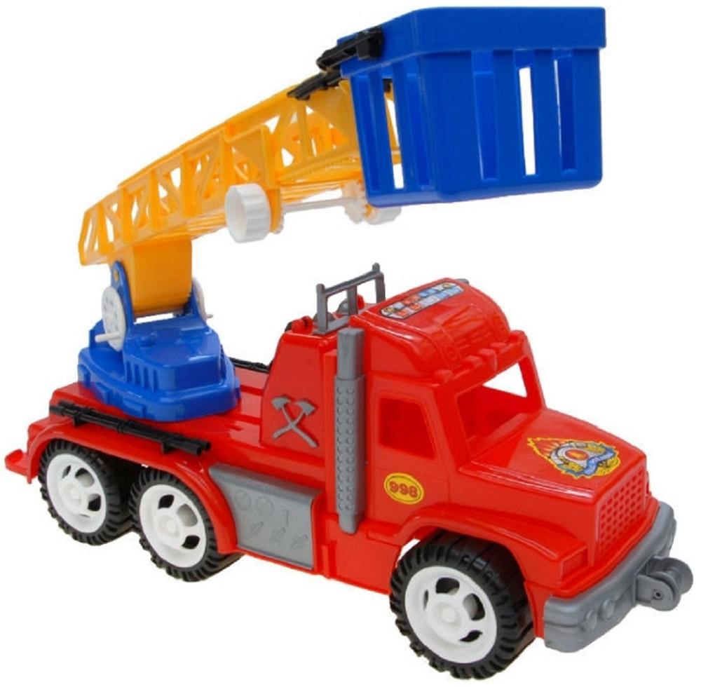 Karolina Toys Машинка Профи Пожарная машина karolina toys игрушка каталка колесо