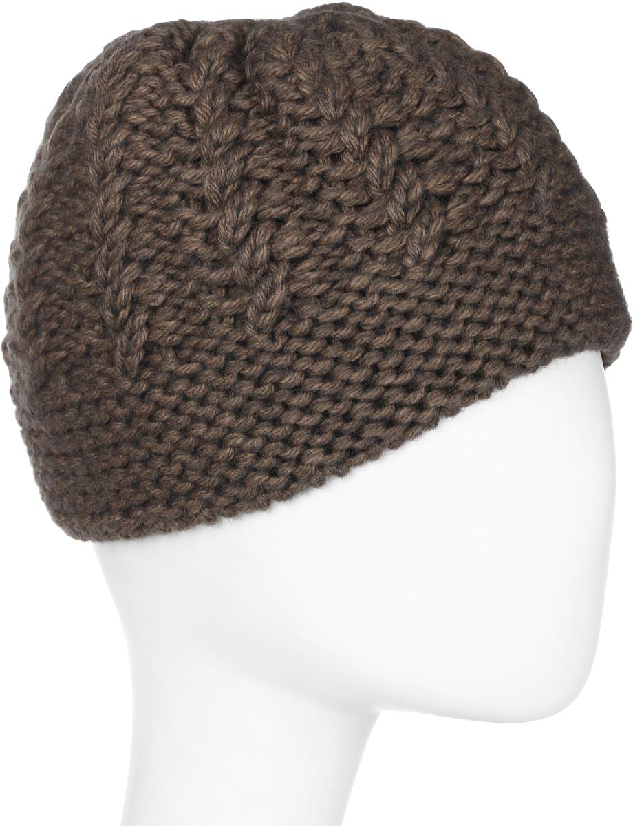 Шапка женская Marhatter, цвет: коричневый. Размер 56/58. MWH6524/2MWH6524/2Стильная шапка, выполнена из высококачественной пряжи. Модель очень актуальна для тех, кто ценит комфорт, стиль и красоту. Отличный вариант на каждый день.