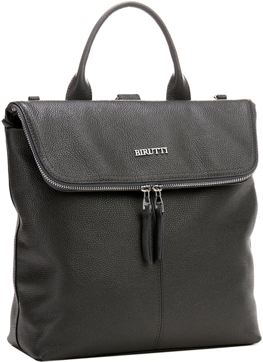 Сумка-рюкзак женская Alessandro Birutti, цвет: темно-серый. 4045 alessandro birutti сумка 4007 abir4007 капучино кор симф