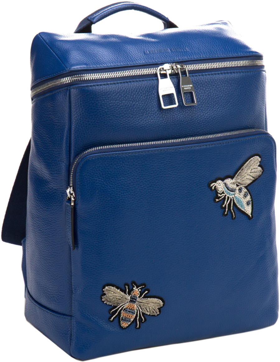 Сумка-рюкзак женская Alessandro Birutti, цвет: синий. 13-283-2 alessandro birutti сумка page 2