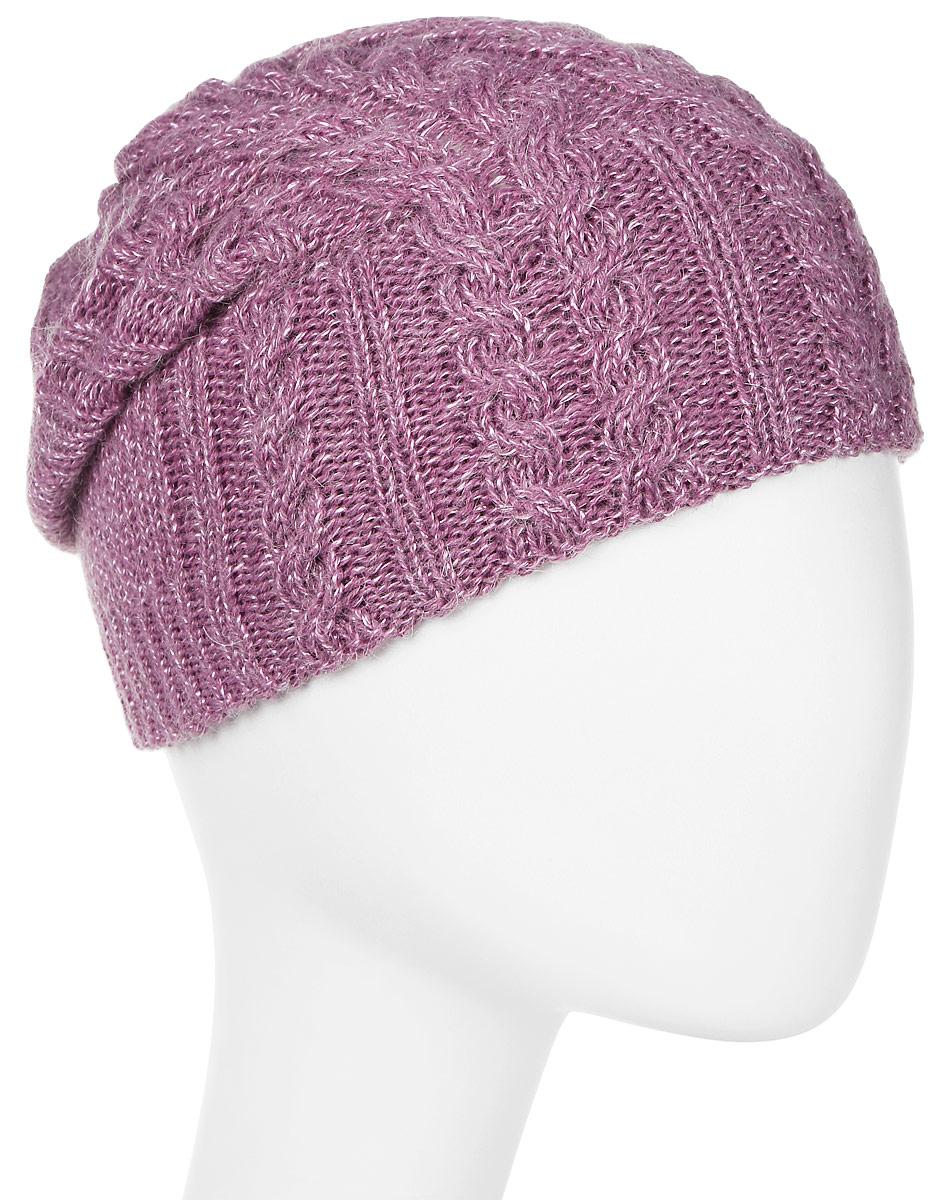 Шапка женская Marhatter, цвет: розовый. MWH5739/6. Размер 56/58MWH5739/6Стильная шапка-колпак, выполнена из высококачественной пряжи. Модель очень актуальна для тех, кто ценит комфорт, стиль и красоту. Отличный вариант на каждый день.