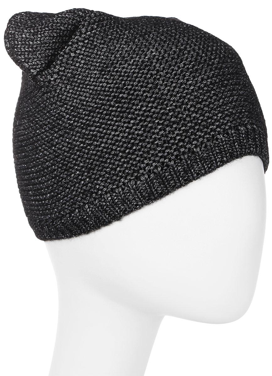 Шапка женская Marhatter, цвет: черный. MWH7192/2. Размер 56/58MWH7192/2Модная шапка кошка в стиле Yeti. Модель отлично подойдет современным модницам, которые хотят проявить свою индивидуальность.