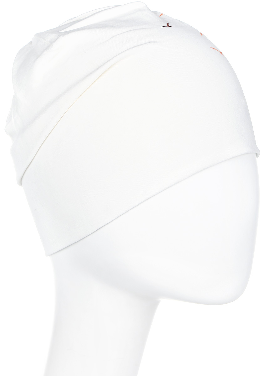 Шапка женская Icepeak, цвет: белый. 855804591IV-010. Размер универсальный855804591IV-010