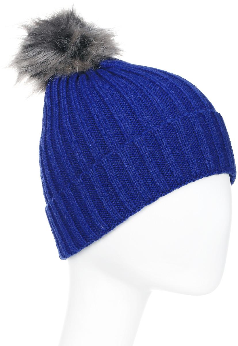Шапка женская Icepeak, цвет: синий. 855812578IV-355. Размер универсальный