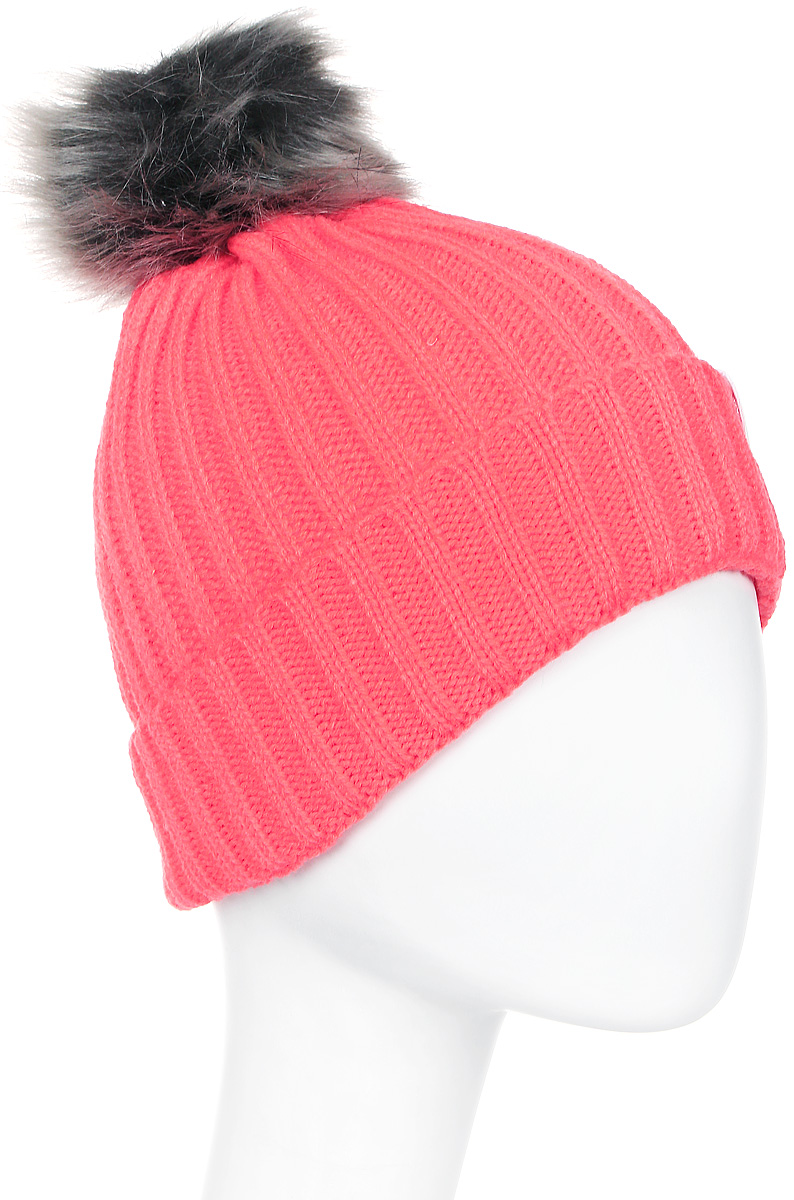 Шапка женская Icepeak, цвет: коралловый. 855812578IV-635. Размер универсальный855812578IV-635