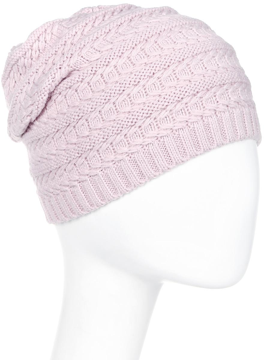 Шапка женская Luhta, цвет: светло-розовый. 838620691LV-620. Размер универсальный838620691LV-620