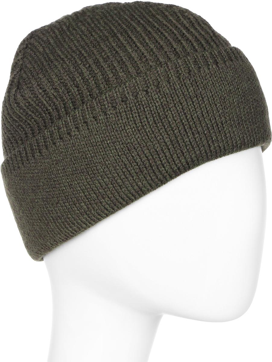Шапка мужская Marhatter, цвет: темно-зеленый. Размер 61/63. MMH5836/2MMH5836/2Отличная классическая шапка, подойдет для спортивных мероприятий и для повседневной жизни. Модель для тех, кто ценит комфорт и стиль.