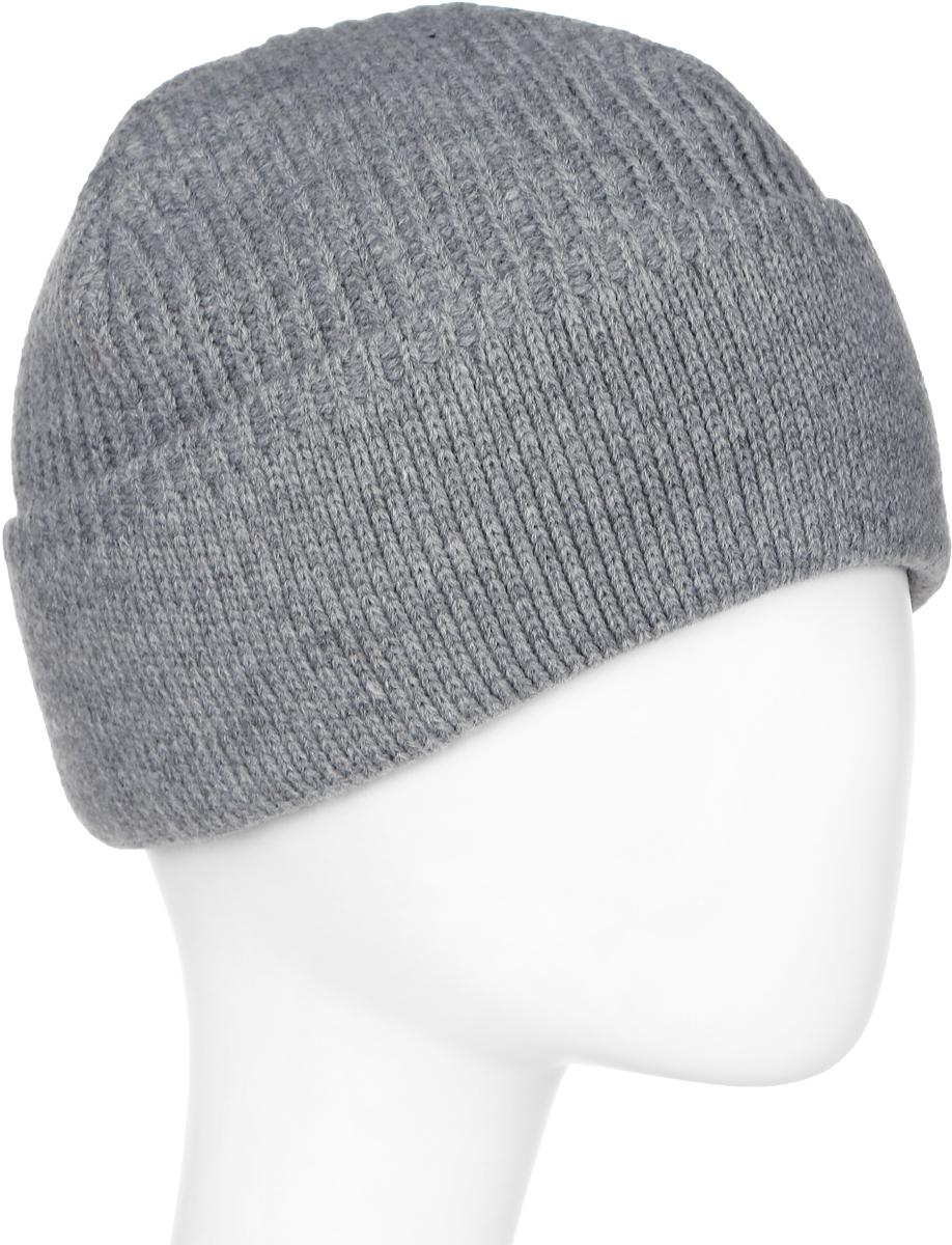 Шапка мужская Marhatter, цвет: серый. Размер 61/63. MMH5836/2MMH5836/2Отличная классическая шапка, подойдет для спортивных мероприятий и для повседневной жизни. Модель для тех, кто ценит комфорт и стиль.