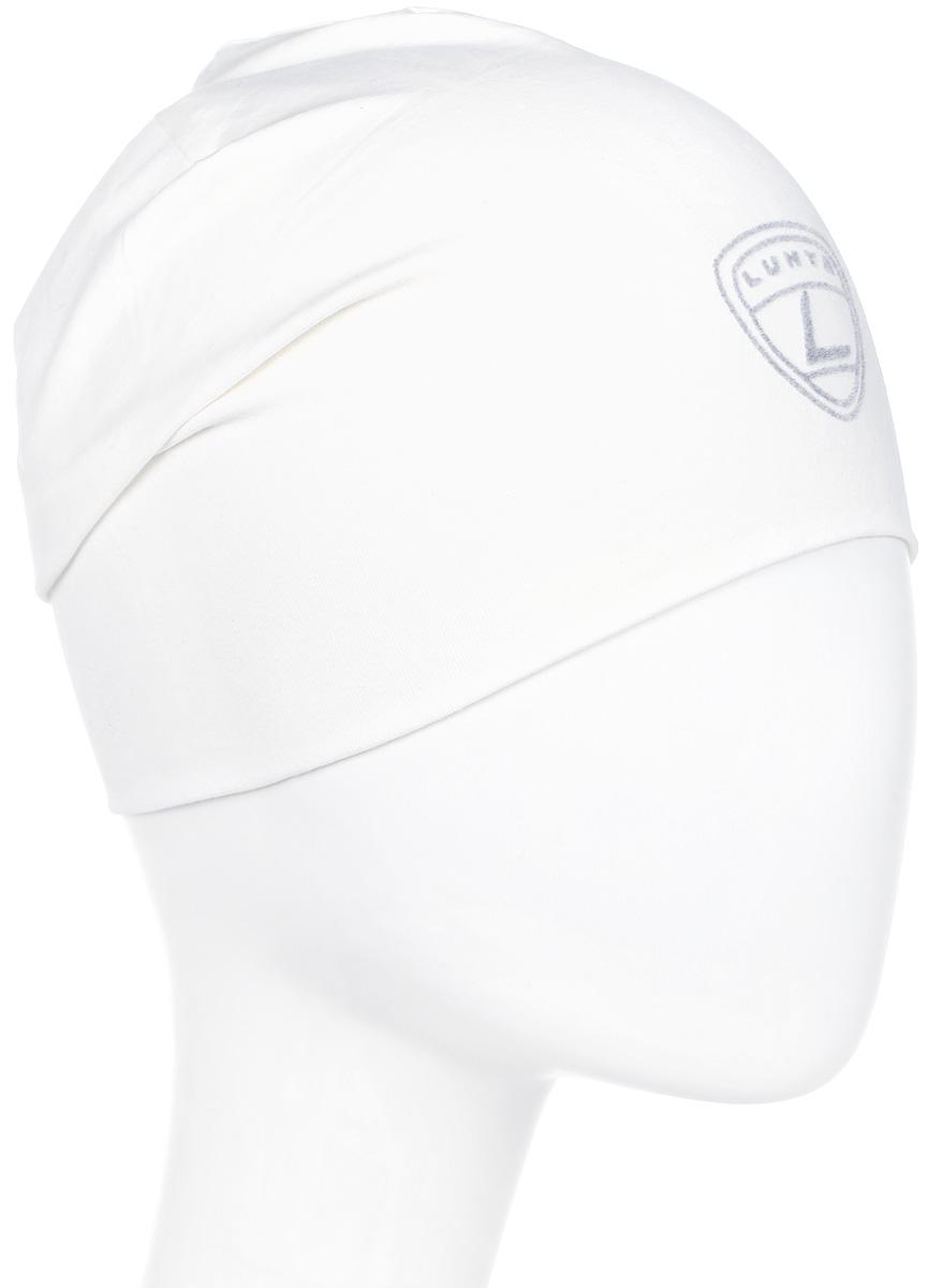 Шапка женская Luhta, цвет: белый. 838605591LV-010. Размер универсальный футболка luhta luhta lu692ewauhs6