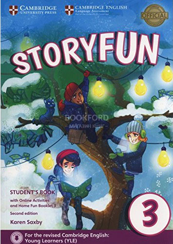 Storyfun for Movers: Level 3: Student's Book with Online Activities and Home Fun Booklet driscoll l cambridge english skills real reading 3 with answers