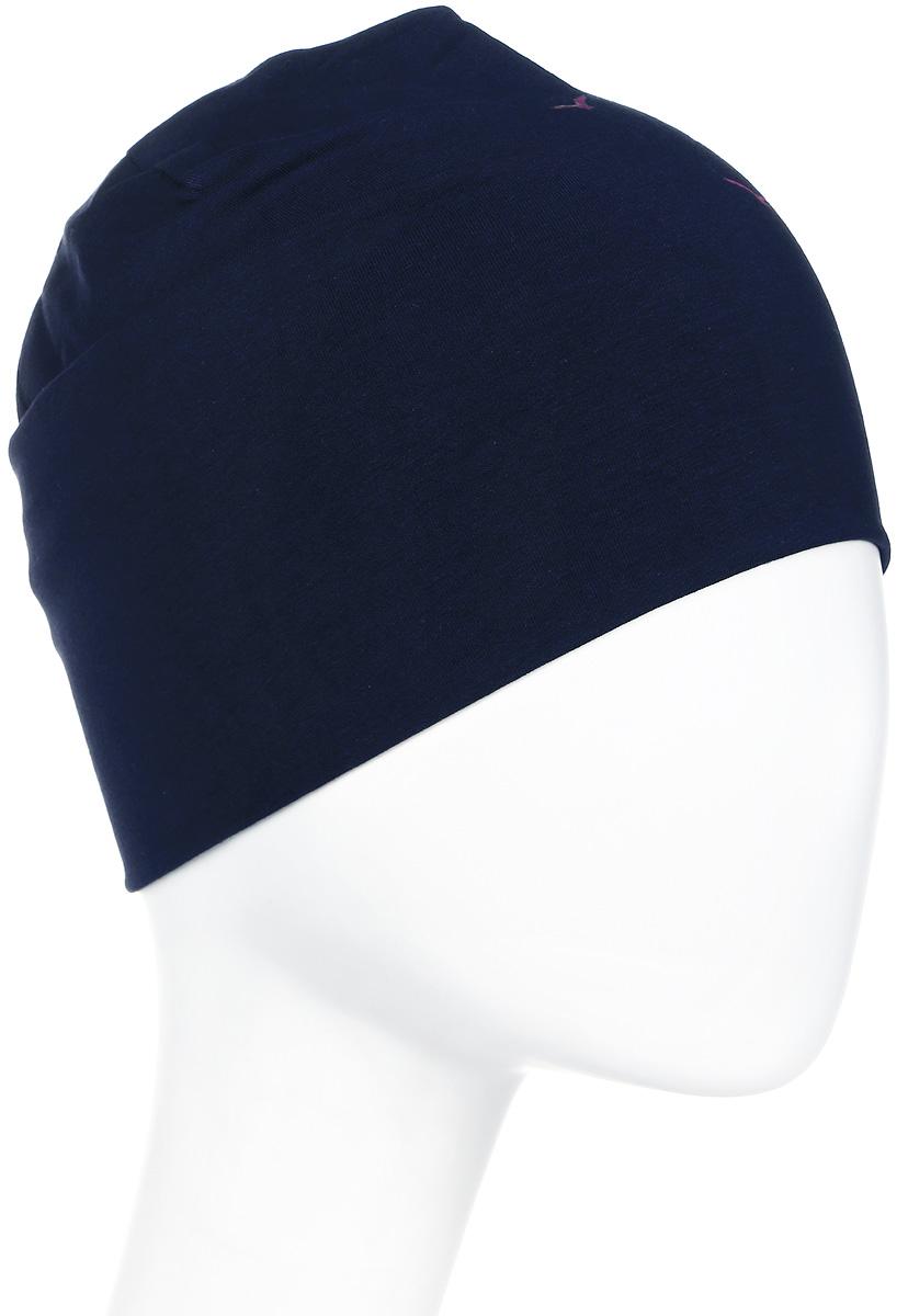 Шапка женская Icepeak, цвет: синий. 855804591IV-380. Размер универсальный855804591IV-380