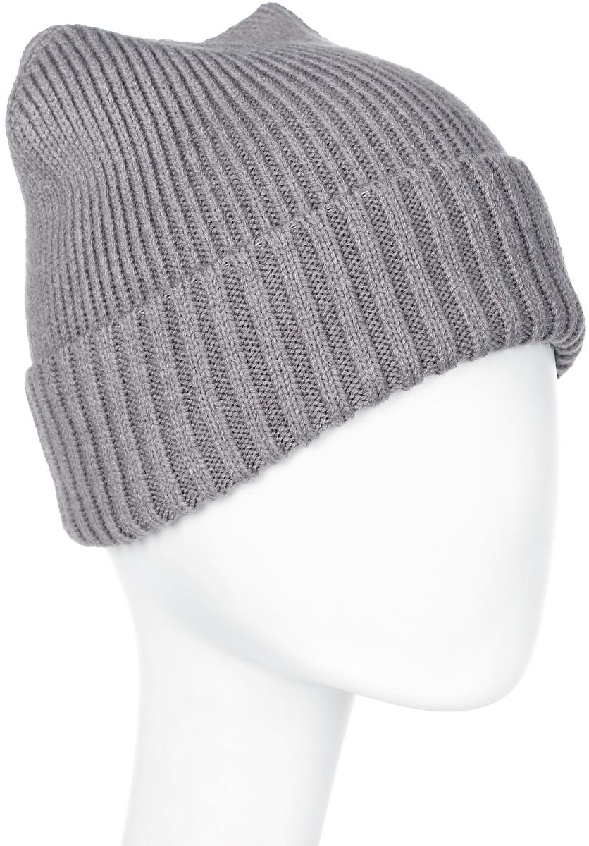 Шапка мужская Marhatter, цвет: светло-бежевый. Размер 57/59. MMH6319MMH6319Замечательная шапка, выполнена из теплого комфортного материала. Идеальный вариант на каждый день.