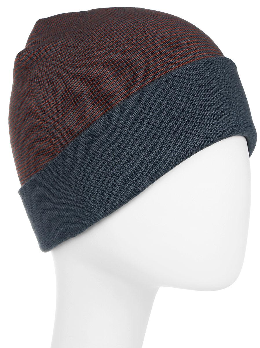 Шапка мужская Columbia Cascade Reversible Watchcap Hat, цвет: синий. 1682191-435. Размер универсальный ботинки мужские columbia cascade pass waterproof