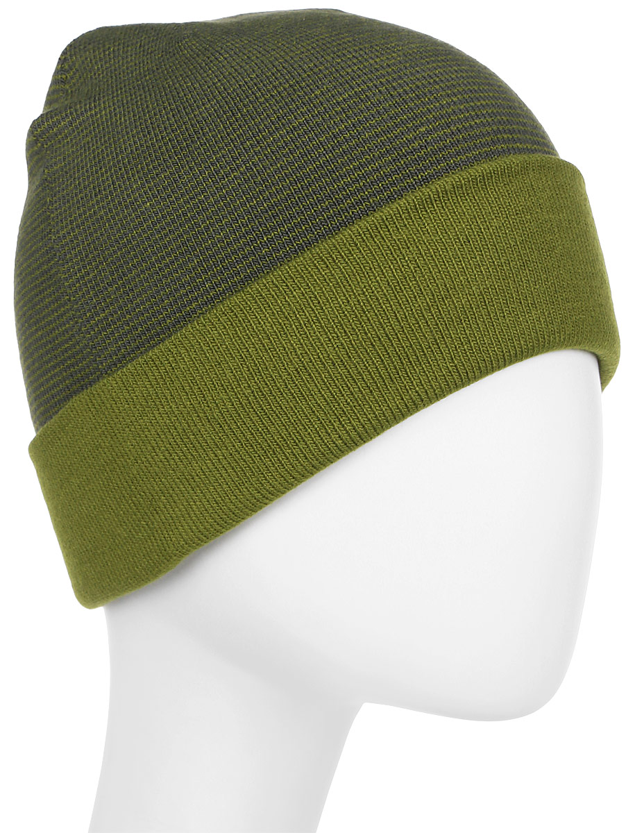Шапка мужская Columbia Cascade Reversible Watchcap Hat, цвет: хаки. 1682191-339. Размер универсальный ботинки мужские columbia cascade pass waterproof