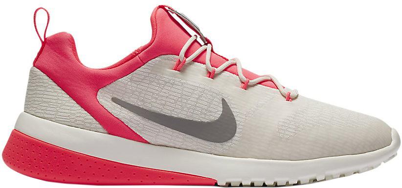 Кроссовки женские Nike CK Racer Shoe, цвет: бежевый, красный. 916792-100. Размер 8 (39)916792-100Стильные женские кроссовки Nike, выполненные из текстиля и пластика, дополнены фирменной нашивкой на язычке. Эластичная шнуровка с фиксатором надежно зафиксирует обувь на ноге. Прочная резина в области пятки с рельефным рисунком усиливает сцепление. Внутренняя поверхность и стелька, выполненные из текстиля комфортны при движении. Подошва с рифлением обеспечивает отличное сцепление на любой поверхности. Мягкие и удобные, кроссовки превосходно подчеркнут ваш спортивный образ и подарят комфорт.