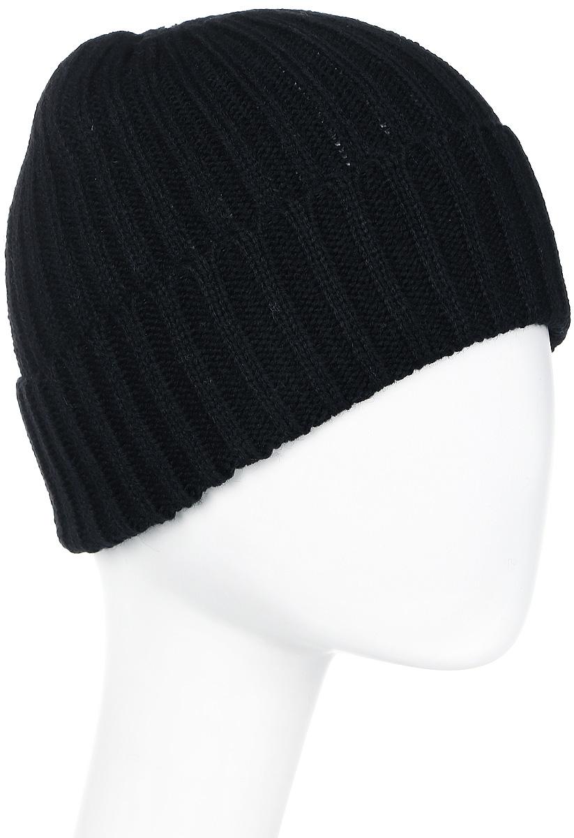Шапка мужская Icepeak, цвет: черный. 858823578IV-990. Размер универсальный858823578IV-990