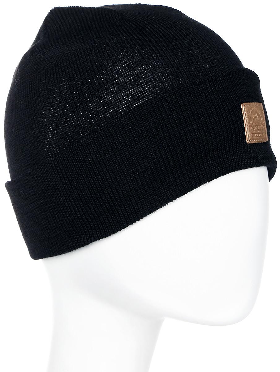 Шапка мужская Icepeak, цвет: черный. 858820617IV-990. Размер универсальный858820617IV-990