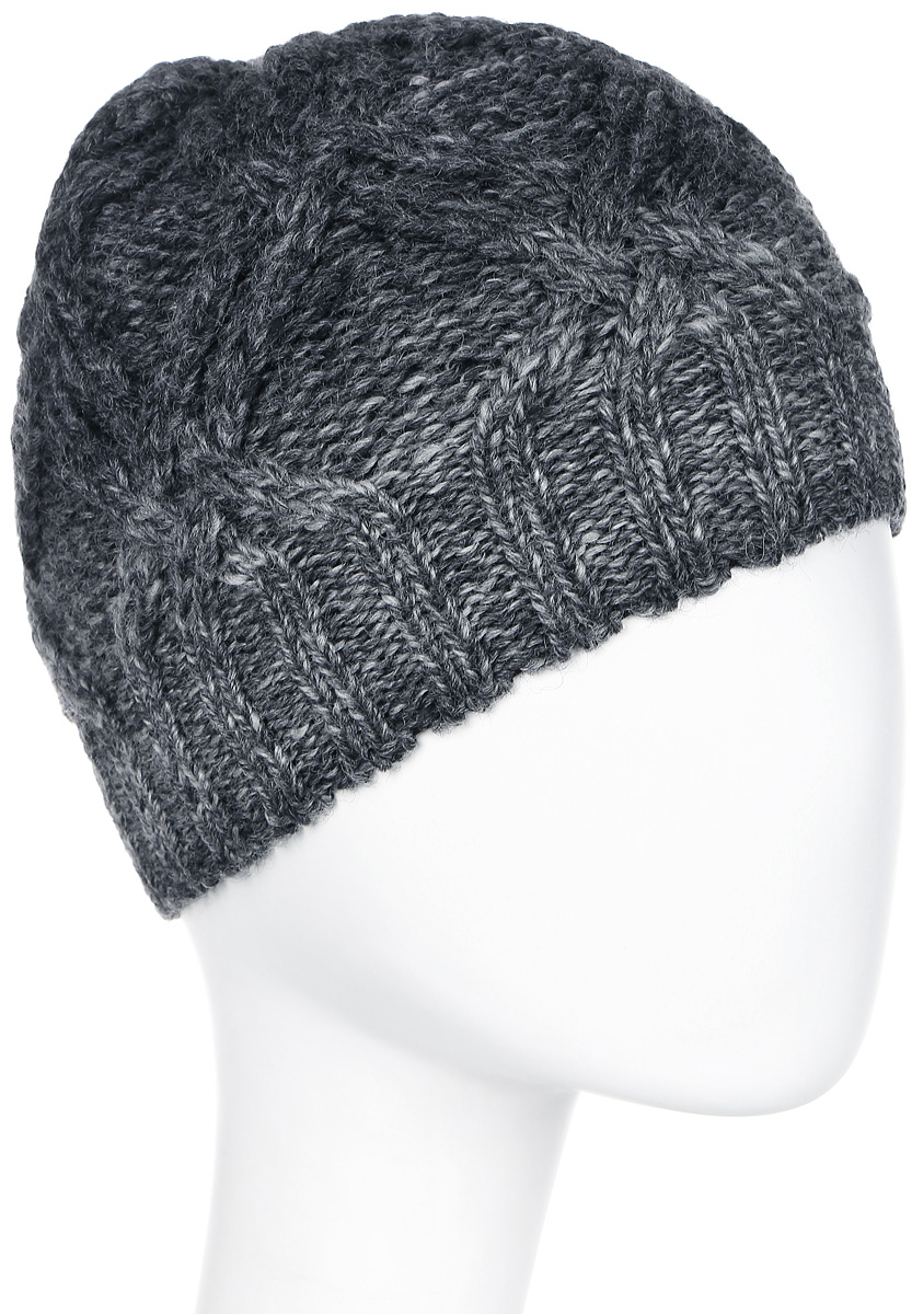 Шапка мужская Marhatter, цвет: темно-серый. Размер 57/59. MMH5957/2MMH5957/2Великолепная шапка обладает модным дизайном, который будет актуальным как на спортивных мероприятиях, так и в повседневной жизни.