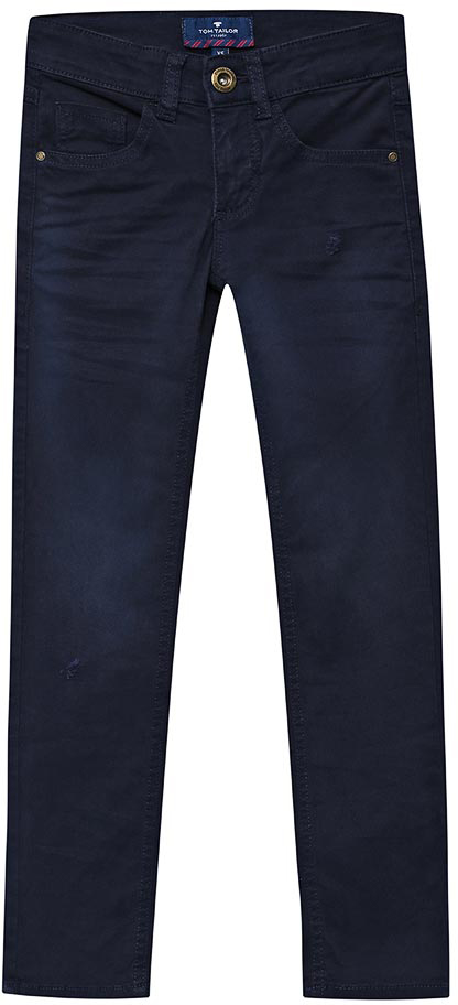 Джинсы для мальчика Tom Tailor, цвет: синий. 6205966.00.30_6800. Размер 1466205966.00.30_6800Стильные джинсы для мальчика выполнены из элатичного хлопка. Модель застегивается на пуговицу и молнию. Пояс выполнен со шлевками.Джинсы классической модели станут прекрасным дополнением к гардеробу вашего ребенка!