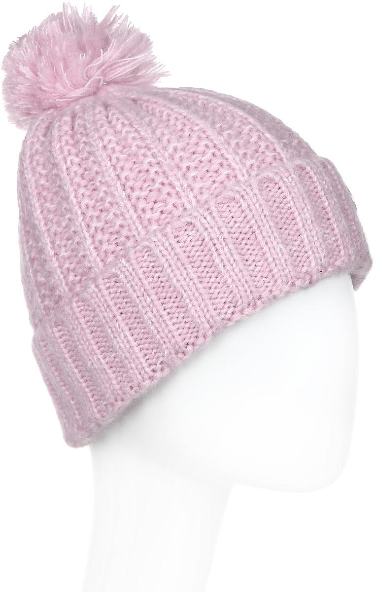 Шапка женская Luhta, цвет: светло-розовый. 838624300LV-620. Размер универсальный футболка luhta luhta lu692ewauhs6