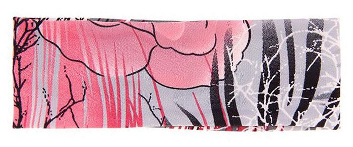 Повязка для волос Mitya Veselkov Шарм, цвет: розовый, черный. 16366241636624Стильная женская повязка Mitya Veselkov изготовлена из текстиля. Симпатичный аксессуар защитит голову от яркого солнца или возьмет на себя функцию ободка. Повязка не сдавливает голову и превосходно тянется.