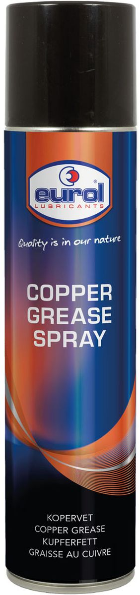Смазка-спрей медная EUROL Copper Grease Spray, 400 мл смазка консистентная eurol molybdenum disulfide grease 400 г