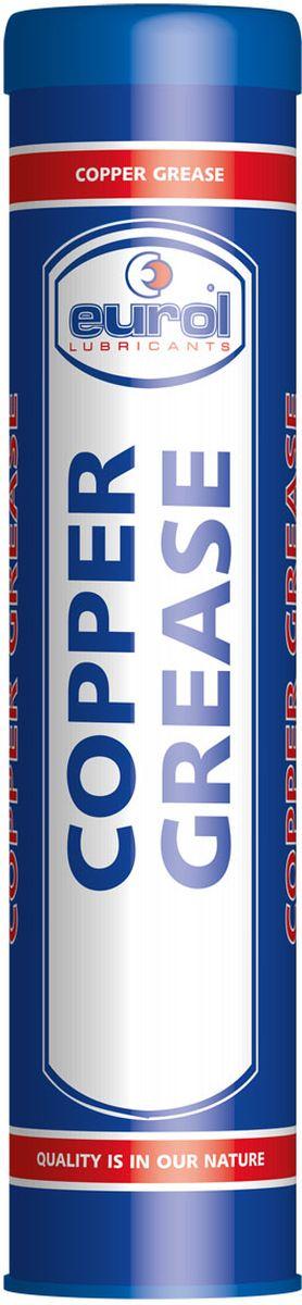 Смазка медная EUROL Copper Grease, 400 гE901220-400gВысокотемпературная медная смазка. Eurol Copper Grease lead-free состоит из модифицированной глины (неплавкий бентон) и высококачественных компонентов меди, графита и аллюминия, а также ингибиторов против коррозии и окисления.Eurol Copper Grease lead-free обеспечивает долговременную защиту от коррозии и вредных внешних химических реакций. Не вымывается (соленой) водой.Eurol Copper Grease lead-free рекомендуется для смазывания кранов, резьбовых соединений, манифолдов, клем аккумуляторов, гаек колес, печей и тормозов, для предотвращения изгибания и трения. Демонтаж уплотнений и раскрутка резьбовых соединений упрощены даже после длительного влияния высоких температур, коррозии и больших нагрузок.Eurol Copper Grease lead-free смягчает поверхности и предотвращает от контакта металл-металл при затягивании болтов. Смазанные части защищены от атмосферного влияния.Спецификации и одобрения:Eurol Copper Grease не содержит свинцаРабочая температура от -40С дo 1100С.