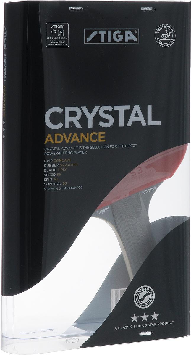 Ракетка для настольного тенниса Stiga Crystal Advance ракетка для настольного тенниса torres advance tt0004