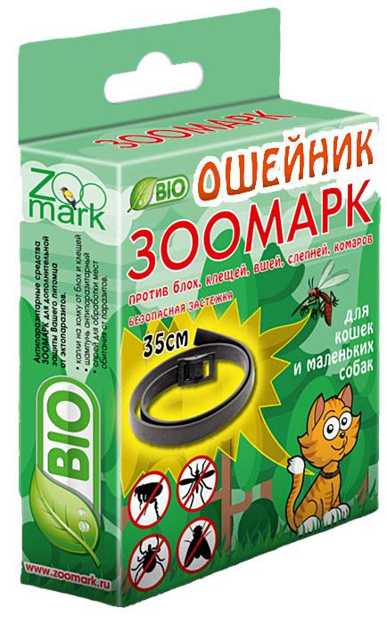 Антипаразитарный BIOошейник для кошек и маленьких собак ЗооМарк, 35 смZМ5000