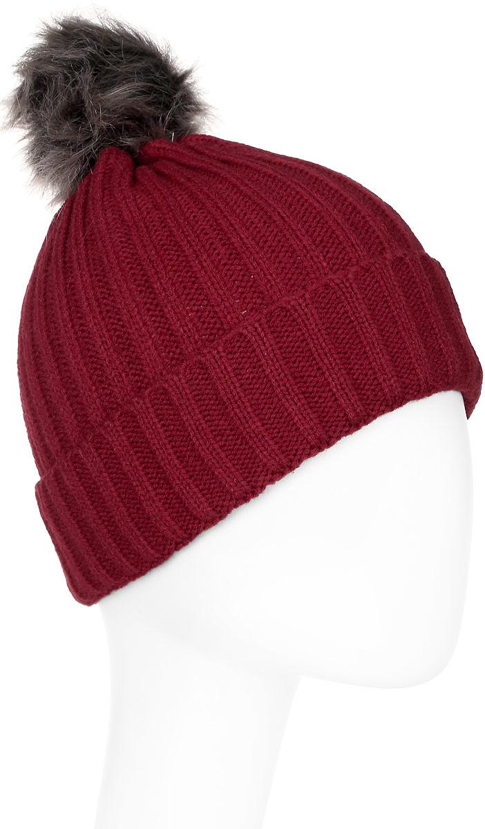 Шапка женская Icepeak, цвет: красный. 855812578IV-675. Размер универсальный855812578IV-675