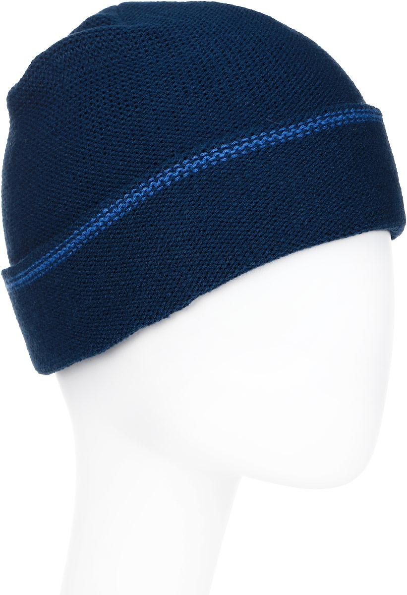 Шапка мужская Icepeak, цвет: синий. 858824618IV-365. Размер универсальный858824618IV-365