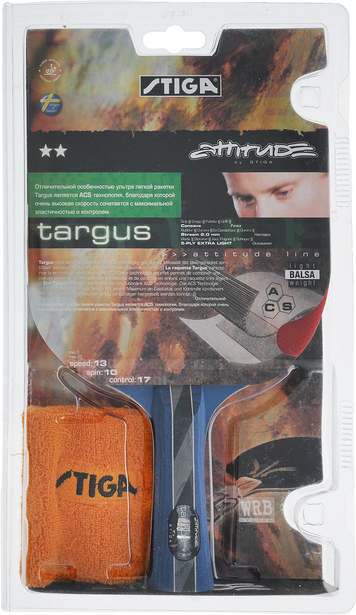 Ракетка для настольного тенниса Stiga  Targus ACS , с напульсником - Настольный теннис