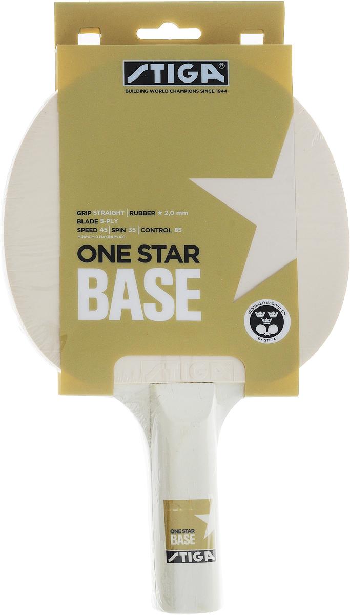 Ракетка для настольного тенниса Stiga Base ракетка для настольного тенниса stiga 7 6 13 7 6 stiga crbon 7 6