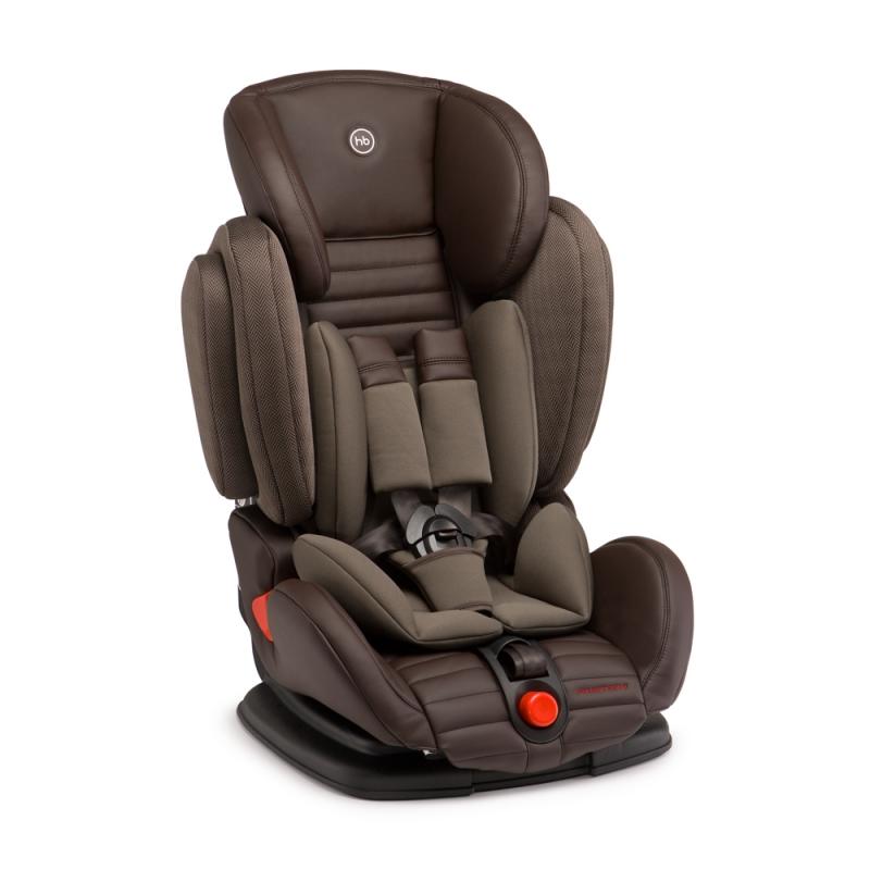 Happy Baby Автокресло Mustang Brown цвет темно-коричневый 9-36 кг