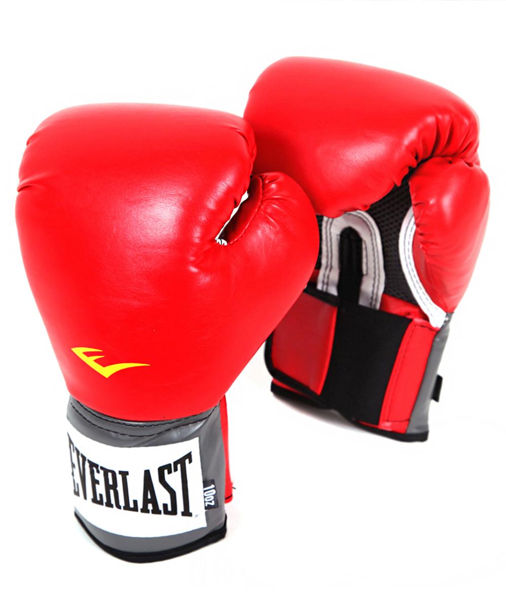 Перчатки боксерские Everlast Pro Style Anti-MB, цвет: красный, 16 oz. 2116UУТ-00008682Перчатки боксерские Pro Style Anti-MB - это тренировочные боксерские перчатки от популярного бренда Everlast. Перчатки имеют яркий цвет и сделаны из высококачественной и износостойкой искусственной кожи. Тренировочные боксерские перчатки имеют следующие особенности: высококачественный кожзаменитель наряду с превосходным дизайном - гарантируют качество, долговечность и функциональность перчаток; имеются мелкие отверстия по всей площади ладони, которые позволяют коже дышать, в то время как антибактериальная пропитка активно борется с плохим запахом и ростом бактерий, превосходно облегают кисть, следуя всем анатомическим изгибам ладони и запястья. Плотный двухслойный пенный наполнитель обеспечивает максимальную защиту рук спортсмена. Технологии: ThumbLok: система защиты большого пальца. Everfresh: антибактериальная защита от запаха.