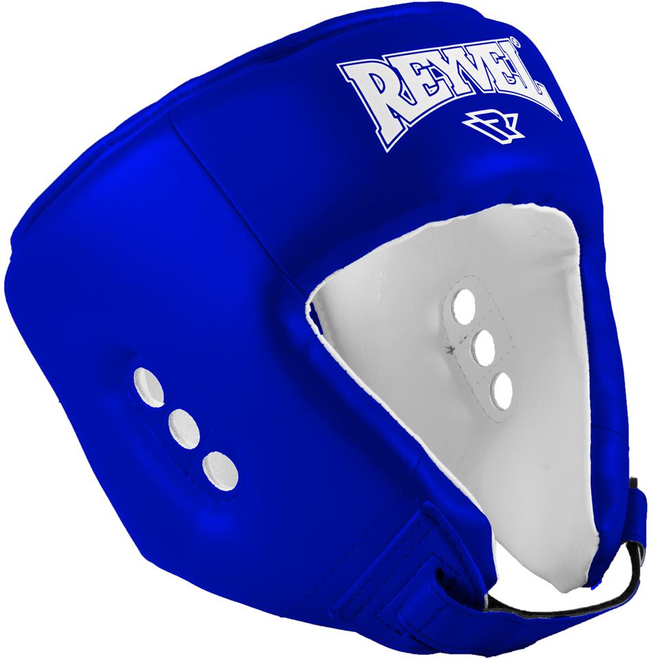Шлем боксерский Reyvel RV-302, цвет: синий. УТ-00008923. Размер MУТ-00008923Шлем открытый RV- 302 - шлем боксерский предназначен для защиты головы спортсменов от травм при ударах.Поверхность шлема выполнена из прочного износостойкого материала высококачественной винилискожи. Многослойный вкладыш из пенополиуретана и пенополиэтилена различных плотностей амортизирует удары и хорошо сохраняет форму шлема. Дополнительную защиту от возможных ударов сверху обеспечивает плотная накладка на макушке. Конструкция шлема обеспечивает хорошую обзорность.Характеристики:Цвет: синийМатериал: к/з (PU)Наполнитель: ППУ + ППЭРазмер М, окружность головы, см: 50-56Производство: Россия