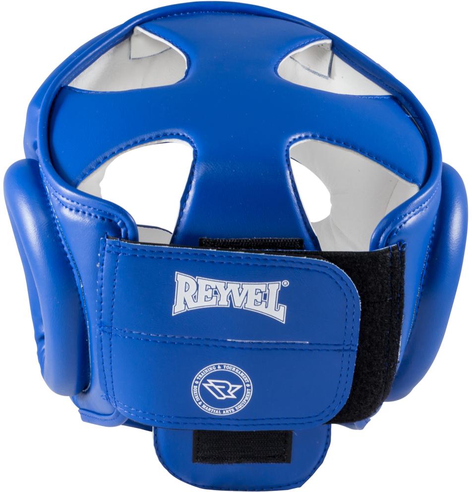 Шлем боксерский Reyvel RV-301, цвет:  синий.  УТ-00008927.  Размер M Reyvel