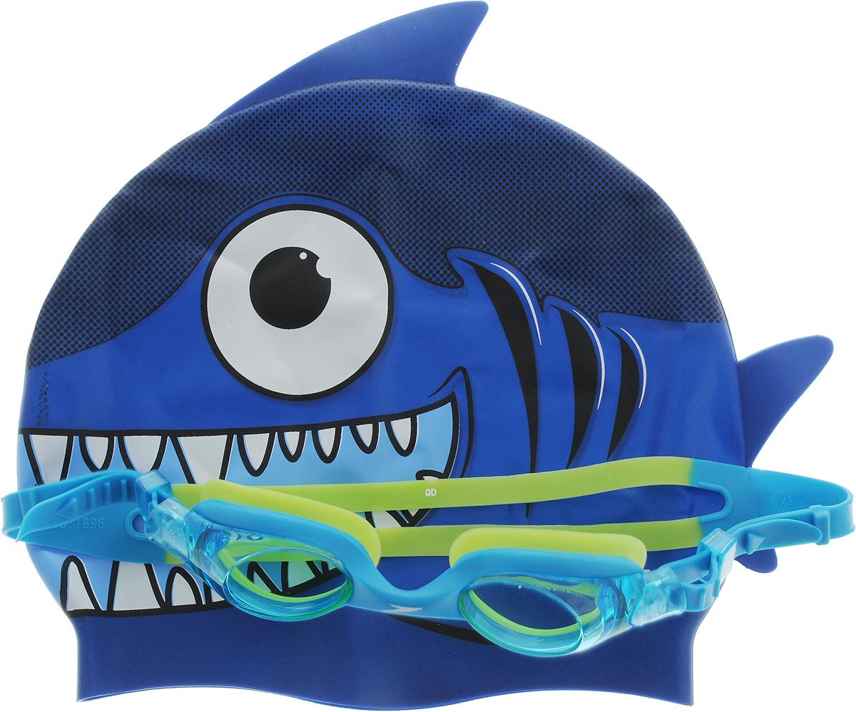 Набор для плавания Speedo Sea Squad Cap Gog Pack Ju, цвет: синий, голубой, салатовый, 2 предмета8-093036817_синий, голубой, салатовыйНабор для плавания Speedo Sea Squad Cap Gog Pack Ju, цвет: синий, голубой, салатовый, 2 предметаДетские очки для плавания Speedo Futura Biofuse будут незаменимы во время плавания в бассейне и открытой воде. Линзы Widevision изготовлены из ударопрочного поликарбоната, а внутренняя поверхность имеет покрытие AntiFog, препятствующее запотеванию линз и обеспечивающее круговой обзор и отличную видимость. Точное исполнение линз гарантирует отсутствие искажений. Технология BioFuse разработана для максимального комфорта без прогиба линз. Очки имеют защиту от ультрафиолетового излучения. Плотное прилегание очков и комфорт обеспечиваются силиконовыми наглазниками. Силиконовый ремешок можно регулировать по размеру.
