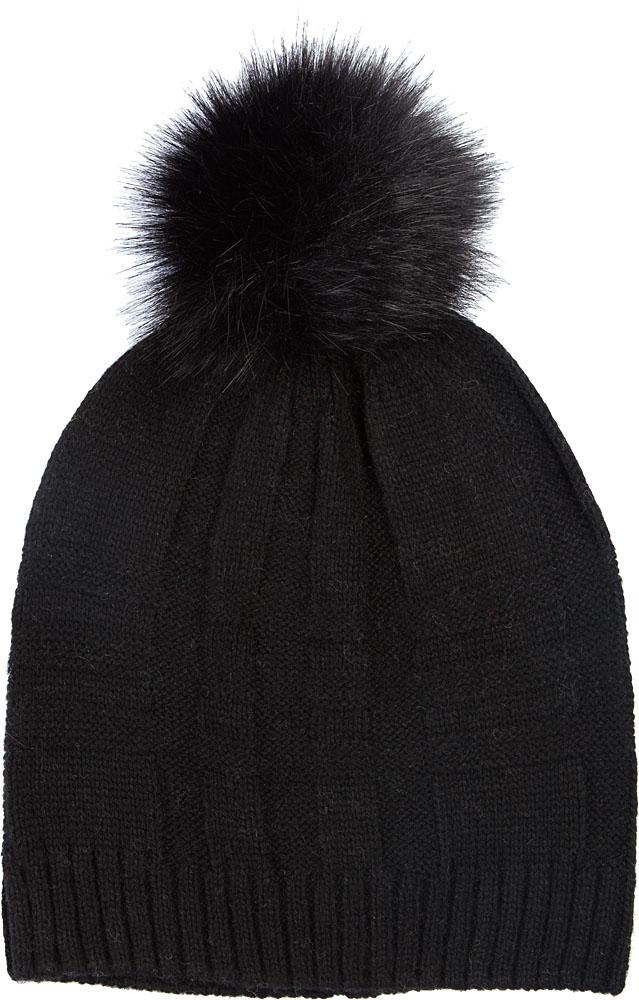 Шапка женская Elisabeth, цвет: черный. 378410/01. Размер универсальный шапки mialt шапка