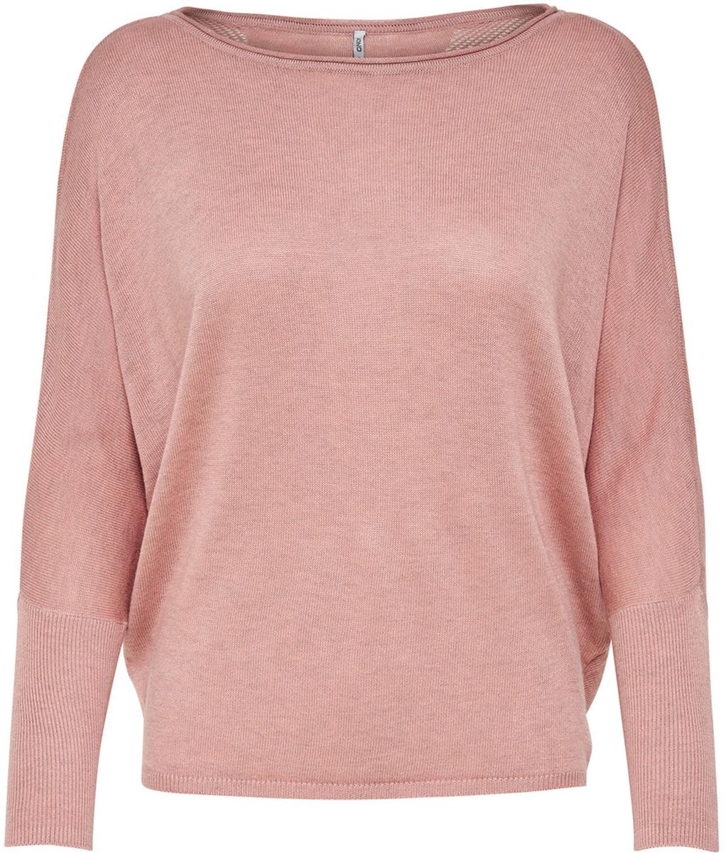 Пуловер жен Only, цвет: розовый. 15140104_Rose Dawn. Размер M (46)15140104_Rose Dawn