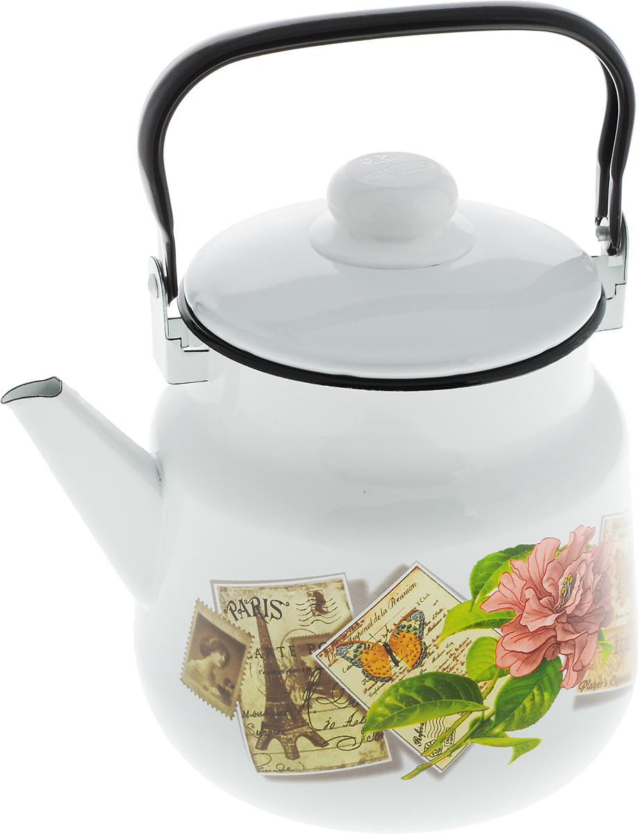 Чайник  Эмаль , 3,5 л. 01-2713/4 - Посуда для приготовления